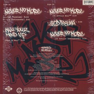 Souls Of Mischief / Never No More back