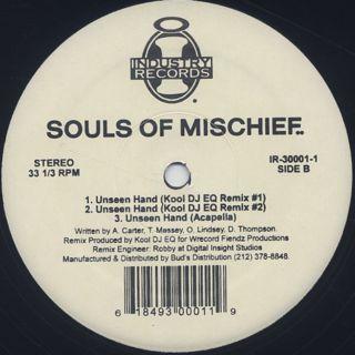 Souls Of Mischief / Unseen Hand back