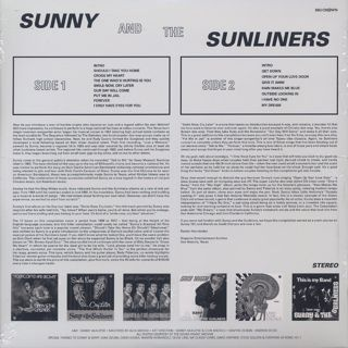 Sunny & The Sunliners / Mr. Brown Eyed Soul back