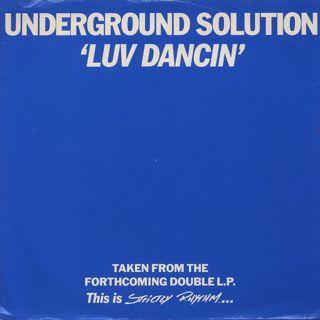 Underground Solution / Luv Dancin'