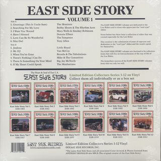 V.A. / East Side Story Vo.1 back