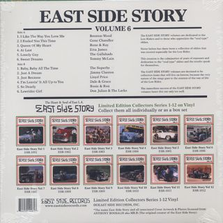 V.A. / East Side Story Vo.6 back