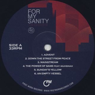 14KT / For My Sanity label