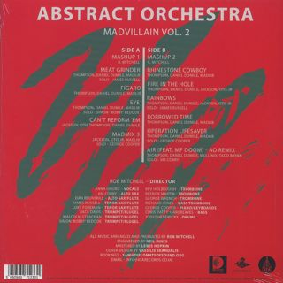 Abstract Orchestra / Madvillain Vol. 2 back