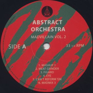 Abstract Orchestra / Madvillain Vol. 2 label