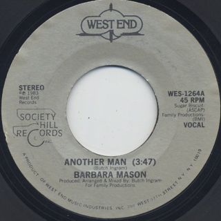 Barbara Mason / Another Man(45) front