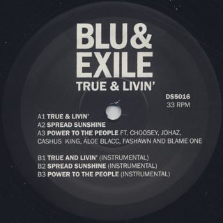 Blu & Exile / True & Livin' label