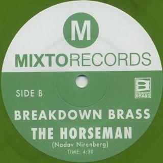 Breakdown Brass / Mary Jane c/w The Horseman back