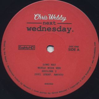 Chris Webby / Next Wednesday label