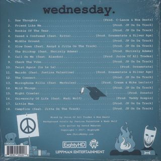 Chris Webby / Wednesday back