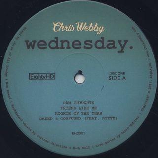 Chris Webby / Wednesday label