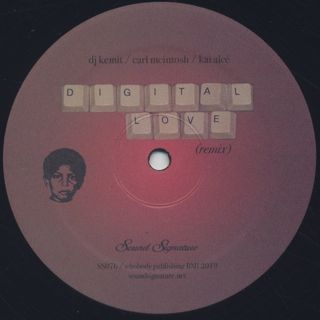 DJ Kemit / Carl McIntosh / Kai Alce - Digital Love (Remix) back