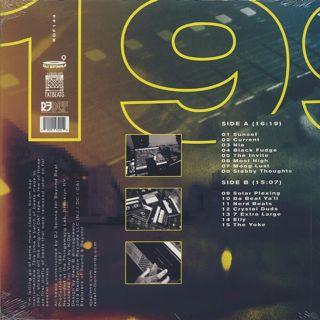 DJ Spinna / 1997 Beat Tape back