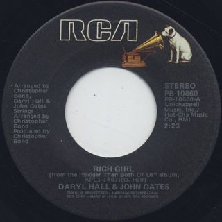 Daryl Hall & John Oates / Rich Girl