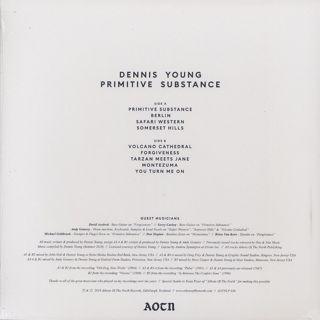 Dennis Young / Primitive Substance back