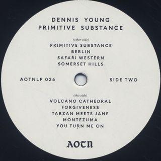 Dennis Young / Primitive Substance label