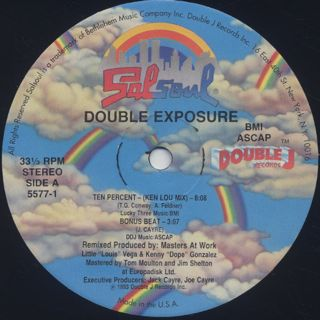 Double Exposure / Ten Percent (Remix) back