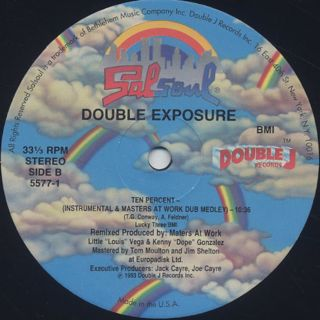 Double Exposure / Ten Percent (Remix) label
