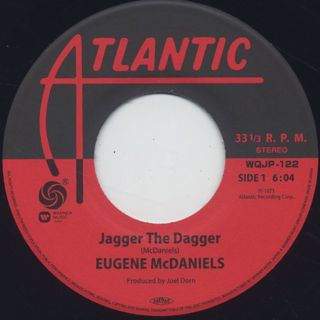 Eugene McDaniels / Jagger The Dagger back
