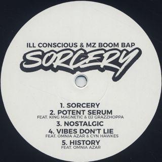 Ill Conscious & MZ Boom Bap / Sorcery label