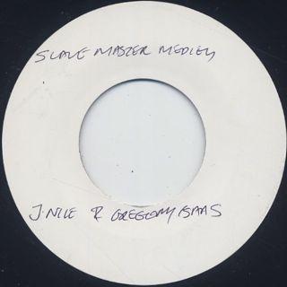 J Nile & Gregory Isaacs / Slave Master Medley back