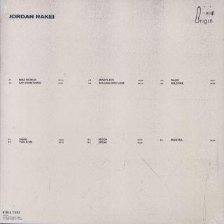Jordan Rakei / Origin back