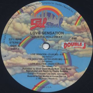 Loleatta Holloway / Love Sensation back
