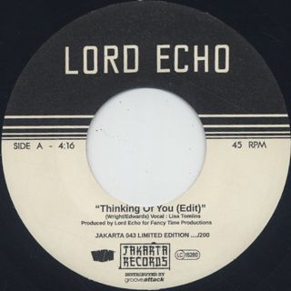 Lord Echo / Thinking Of You c/w Rhythm 77