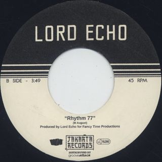 Lord Echo / Thinking Of You c/w Rhythm 77 back