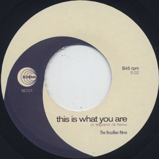 Mario Biondi / This Is What You Are label
