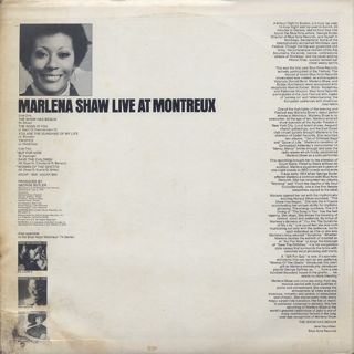 Marlena Shaw / Live At Montreux back