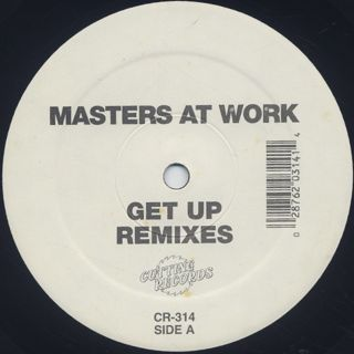 Masters At Work / Get Up Remixes back