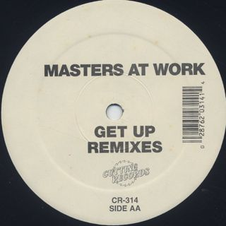 Masters At Work / Get Up Remixes label