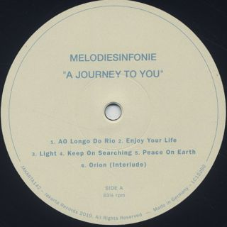 Melodiesinfonie / A Journey To You label
