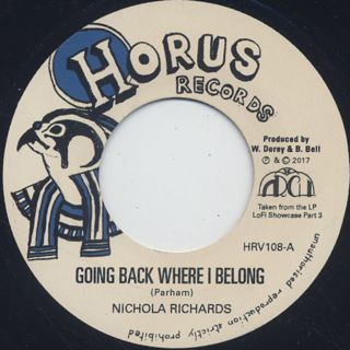 Nichola Richards / Going Back Where I Belong