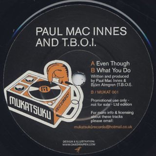 Paul Mac Innes And T.B.O.I. / Even Though