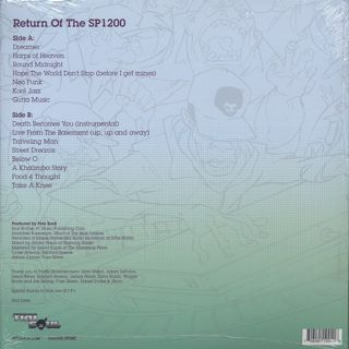 Pete Rock / Return Of The SP1200 back