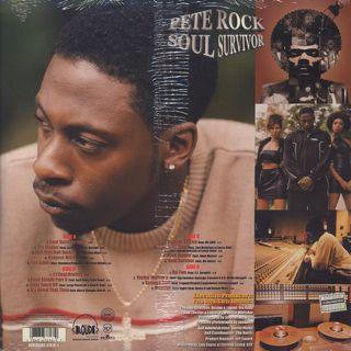 Pete Rock / Soul Survivor (2LP)(Sealed) back
