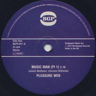Pleasure Web / Music Man