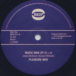 Pleasure Web / Music Man back
