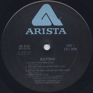 Raydio / Raydio label
