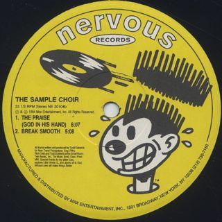 Sample Choir / Feelin' Lonely label
