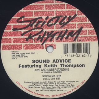 Sound Advice Featuring Keith Thompson / Love And Understanding back