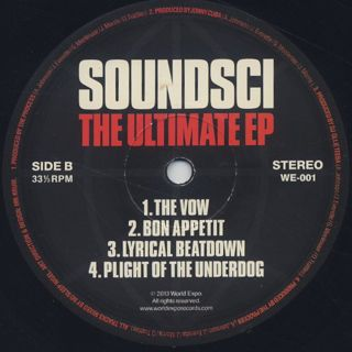 Soundsci / The Ultimate EP label