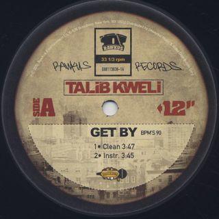 Talib Kweli / Get By label