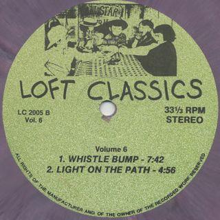 V.A. / Loft Classics Volume 6 label