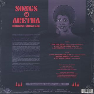 V.A. / Songs Of Aretha Dubwise Showcase back