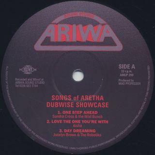 V.A. / Songs Of Aretha Dubwise Showcase label