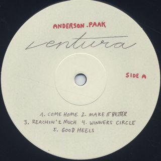 Anderson .Paak / Ventura label