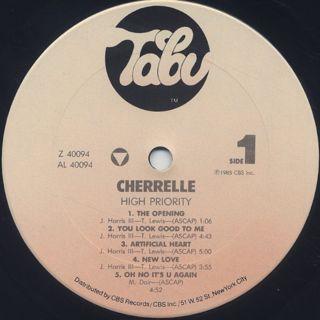 Cherrelle / High Priority label